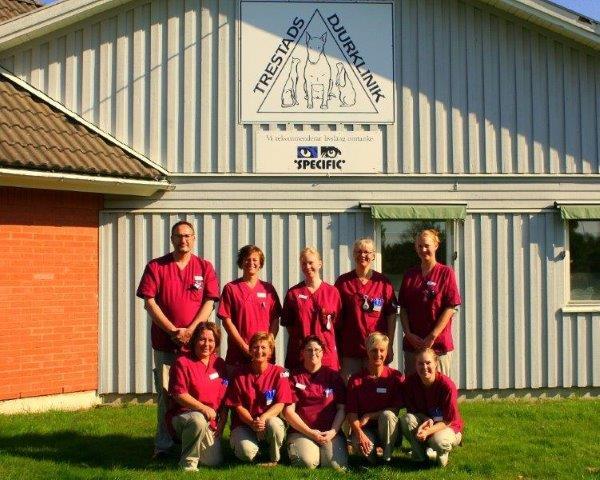 Trestads djurklinik personal 2014 pytte
